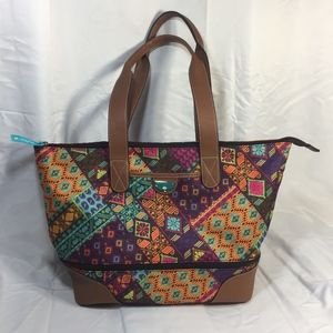 Lily Bloom Zipper Tote